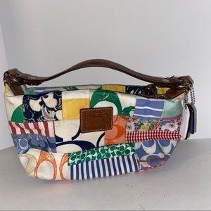Coach mini patchwork purse